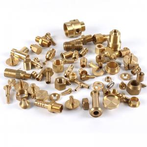 copper brass part cnc machining services