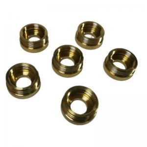 CNC brass parts machining