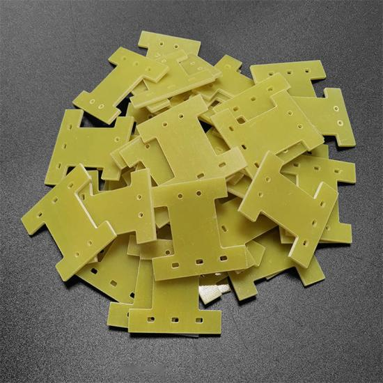 Yellow 3240 material epoxy CNC machining parts